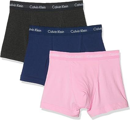 Calvin Klein Bóxer (Pack de 3) para Hombre: Amazon.es: Ropa y accesorios