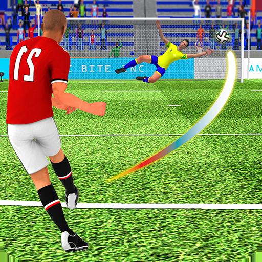 Flick Football : FreeKick Soccer Games 2019 ()