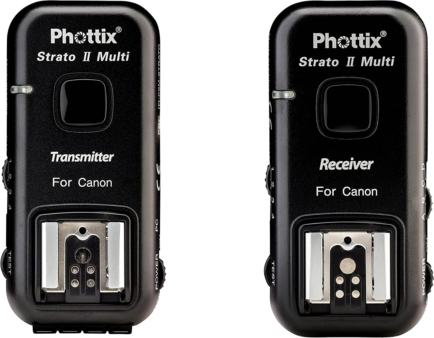 PH15653 Phottix Strato II Wireless Flash Trigger Multi 5-in-1 Set for Nikon Transmitter and Receiver