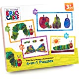 "Paul Lamond 6135 ""The Very Hungry Caterpillar"" 4-in-1 Puzzle Set"
