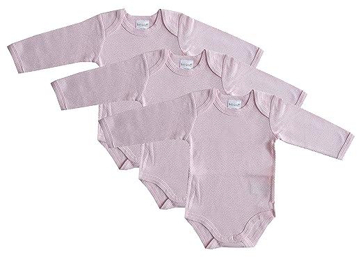 Schnizler Unisex Baby Body Langarm 3er Pack