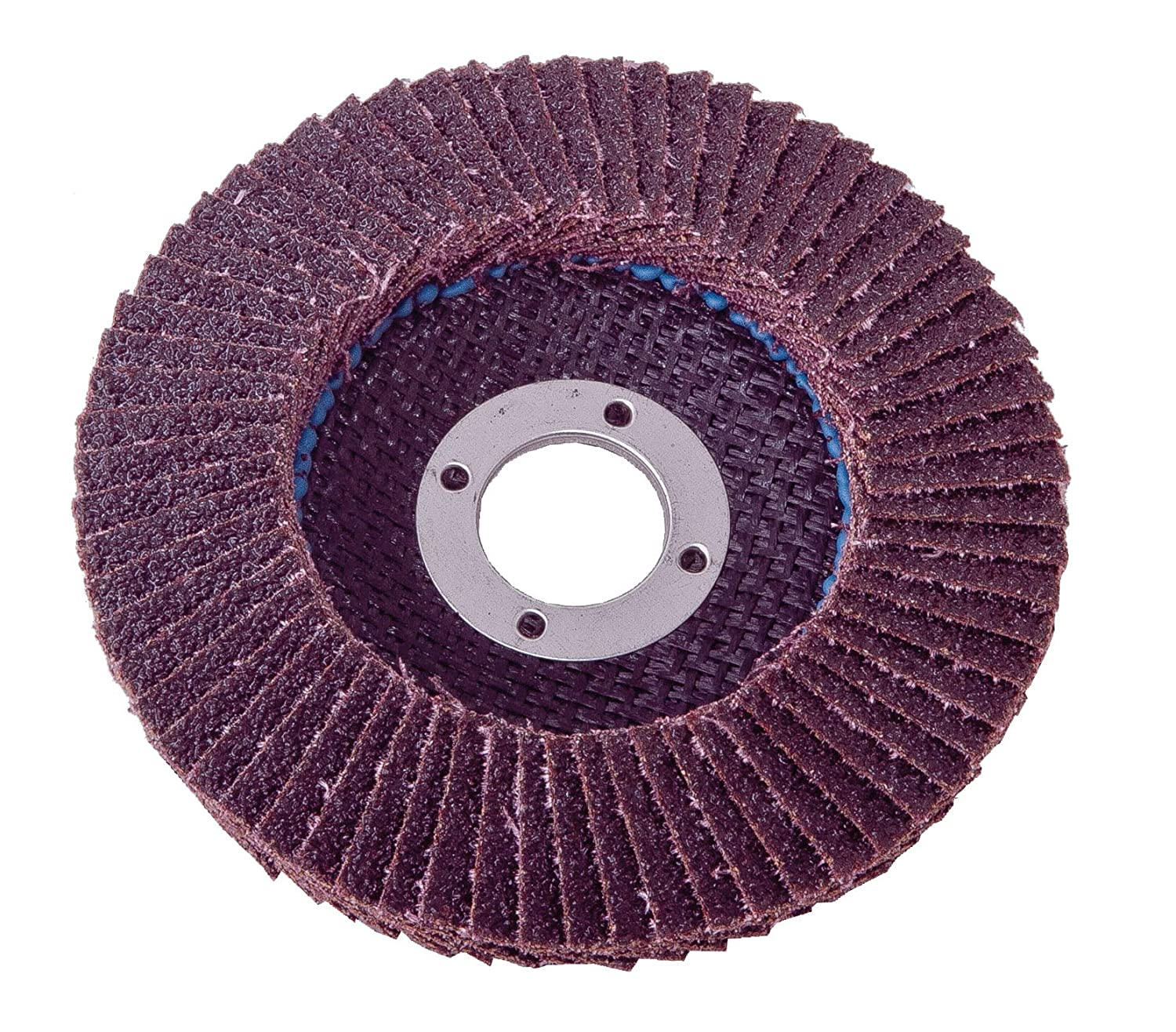 Shark 45736 4.5-Inch by 0.875-Inch Aluminum Beveled Flap Disc, Type 29, Grit-36