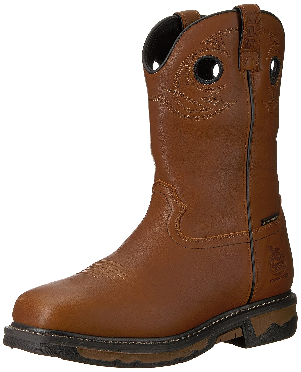 Georgia GB00160 Mid Calf Boot B071XJ4BYN 10.5 M US|Dark Brown