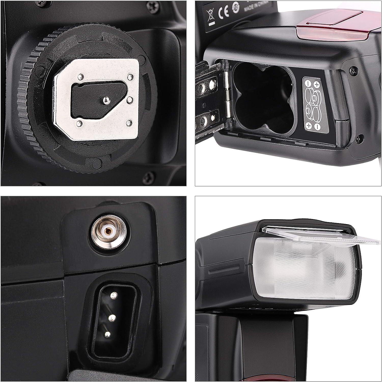 Flash Speedlite for Canon Nikon Panasonic Olympus Pentax and Other ...