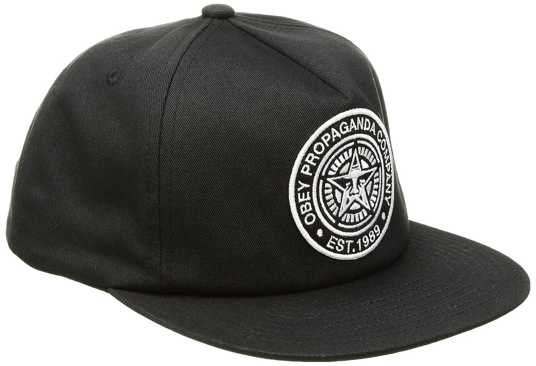 f3a3eb1da835b1 Amazon.com: Obey Men's Established 89 Snapback HAT, Navy, ONE Size: Clothing