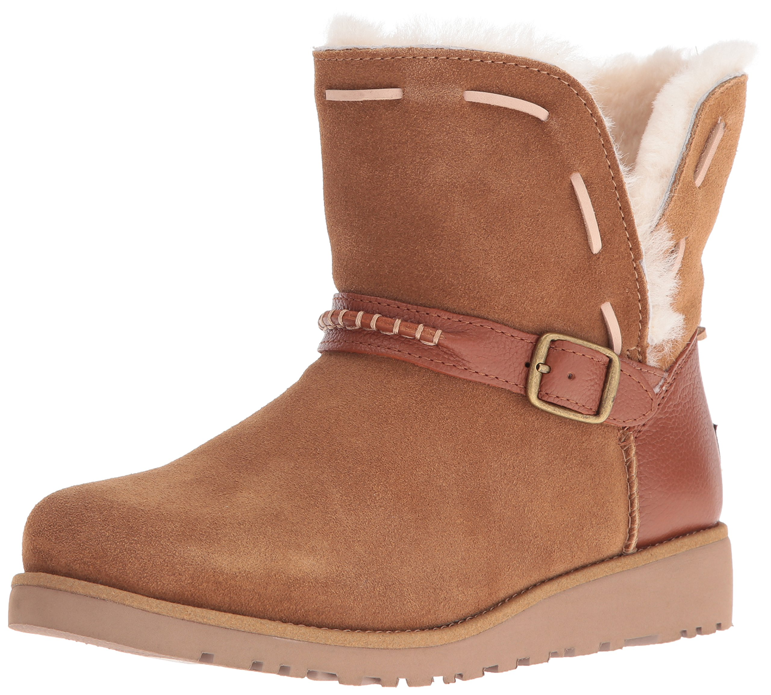 UGG Girls Y Tacey Pull-on Boot, Chestnut, 6 M US Big Kid