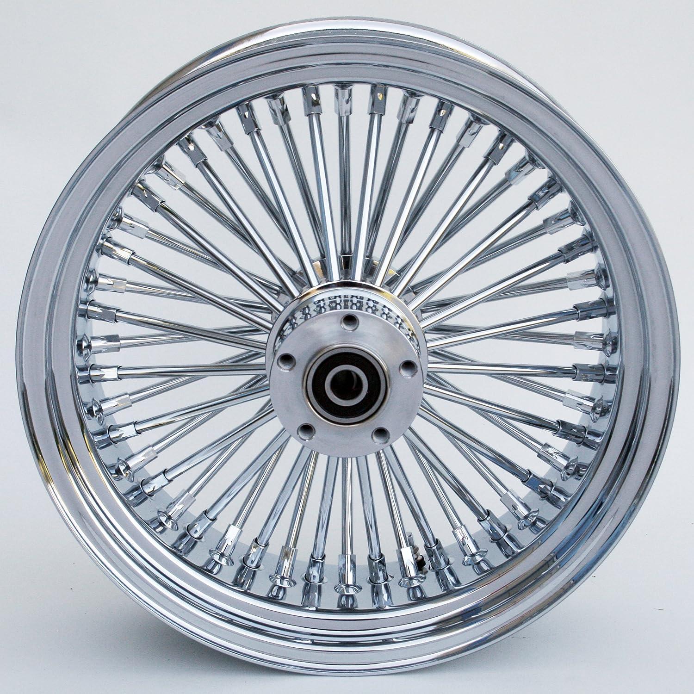Amazon.com : Ultima King Spoke Tubeless Chrome 16x3.5 Rear Wheel for ...