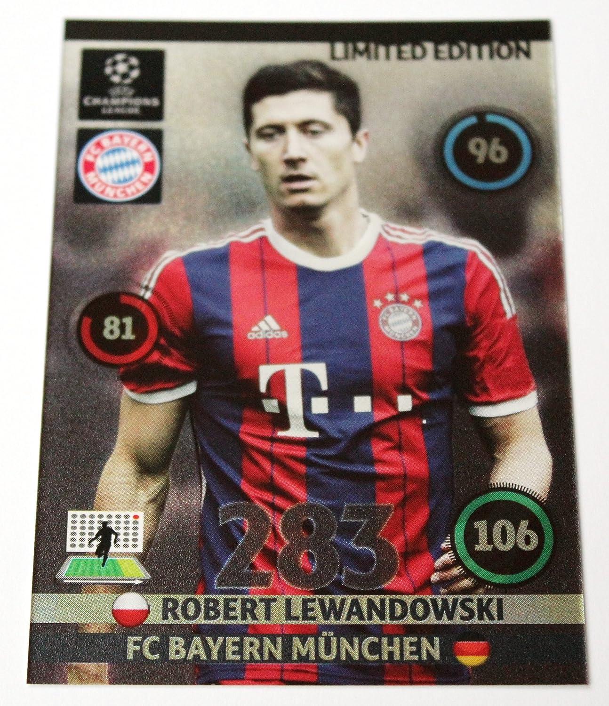 Panini Adrenalyn Champions League 2014 2015 limited edition card Lewandowski Munich