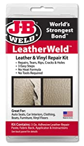 J-B Weld 2130 Vinyl and Leather Repair Kit