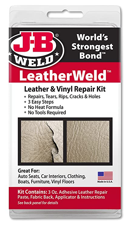 Amazon.com: J-B Weld 2130 Vinyl and Leather Repair Kit: Automotive