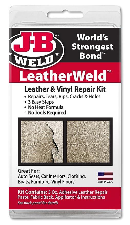 Amazon com : J-B Weld 2130 Vinyl and Leather Repair Kit