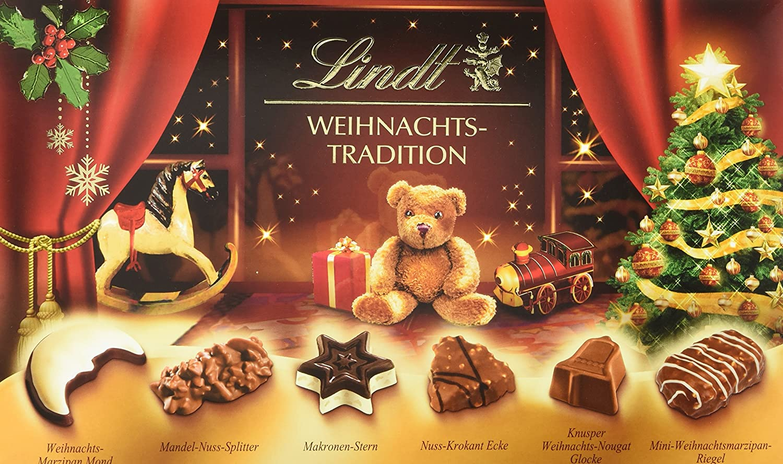 Lindt & Sprüngli Weihnachts-Tradition Pralinés, 2er Pack (2 x 264 g ...