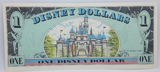 1987 $1 Disney Dollar Mickey Castle Back PCGS 64 PPQ Anaheim