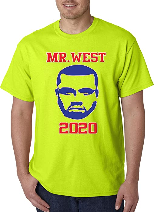 22ab58b1 New Way 326 - Unisex T-Shirt Mr West Kanye 2020 Presidential Candidate  Election 2XL