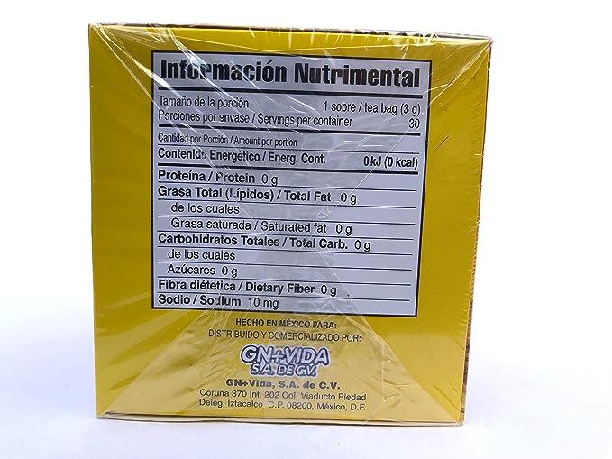 Amazon.com | Pinalim Tea/Te de Pinalim Mexican Version- Pineapple, Flax, Green Tea, & White Tea - 30 Day Supply: Cups, Mugs, & Saucers