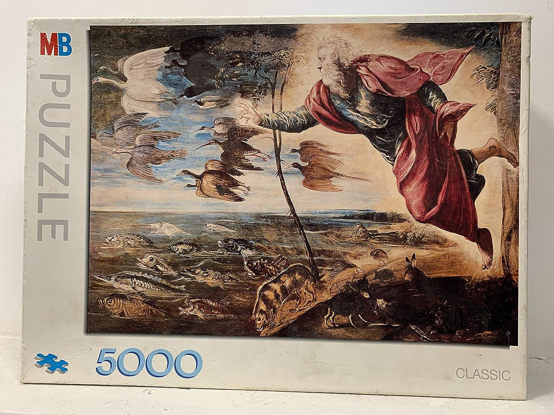 Milton Bradley Puzzle 5000 La Caccia ala Tigre Rubens Pierre 1577: Amazon.es: Juguetes y juegos