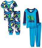 Amazon Price History for:Gerber Baby and Little Boys' 4 Piece Cotton Pajama Set