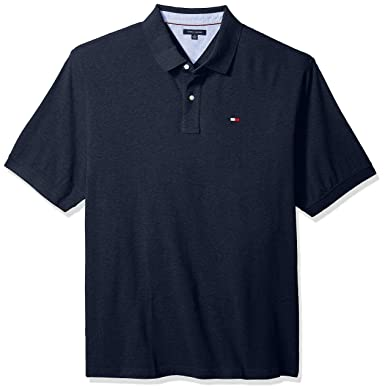 3bbd1722a6 Amazon.com  Tommy Hilfiger Men s Big and Tall Polo Shirt Ivy  Clothing