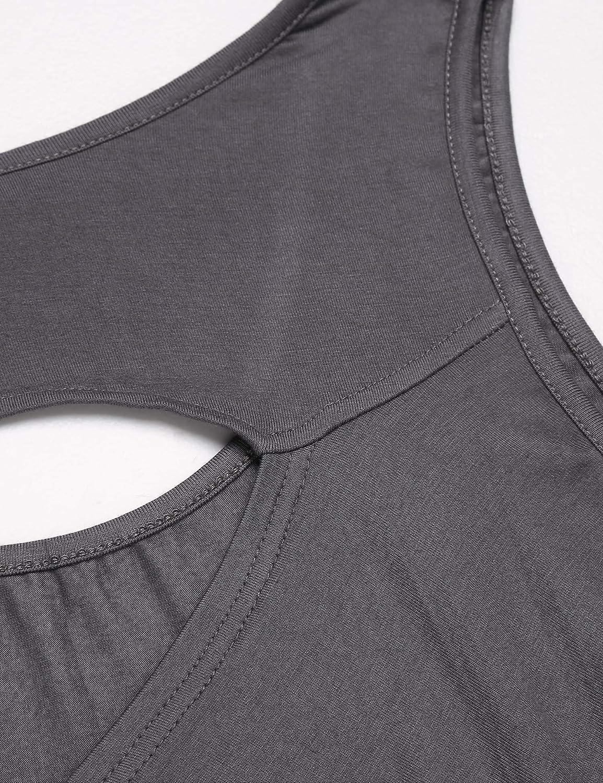 ADOME Damen Sport Tank Tops Yoga Sporttop Yoga Fitness Top Training Shirt Lauftop Running Oberteile R/ückenfrei
