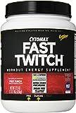 CytoSport Fast Twitch Pre-Workout Supplement Powder, Fruit Punch, 2.03 Pound