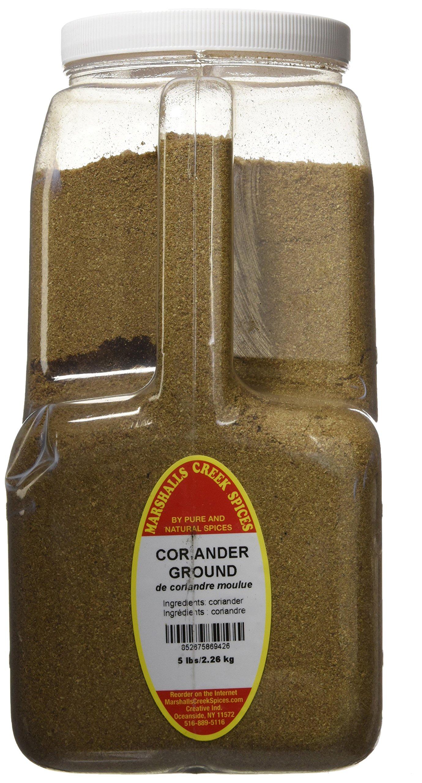 Marshalls Creek Spices Ground Coriander Seed, XX-Large, 5 Pound
