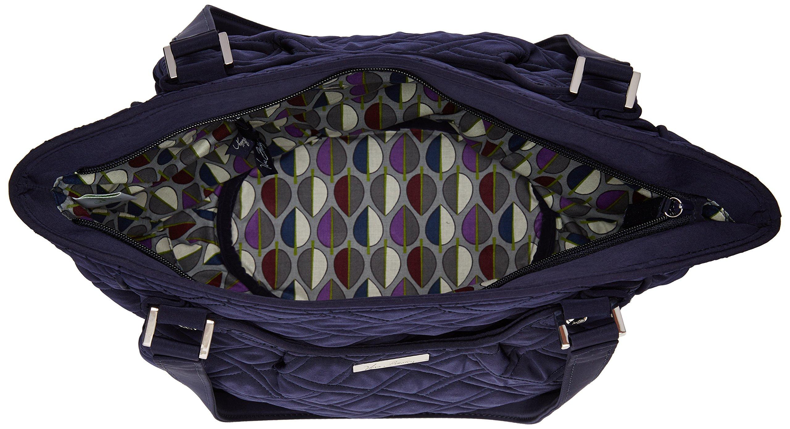 Vera Bradley Glenna 2 Shoulder Bag, Classic Navy, One Size by Vera Bradley (Image #5)