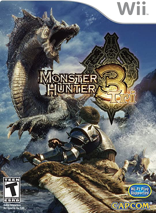 Monster Hunter Tri (Wii) [Importación inglesa]: Amazon.es: Videojuegos