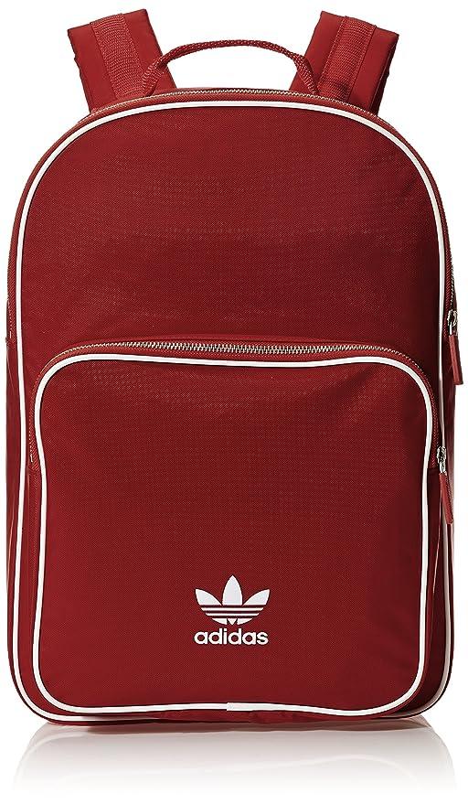 best loved d7674 1208a adidas Bp Cl Adicolor, Mochila Unisex Adultos, Rojo (Buruni), 24x36x45 cm