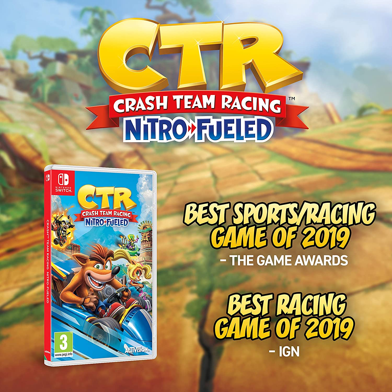 Crash™ Team Racing Nitro-Fueled - Nintendo Switch [Importación ...