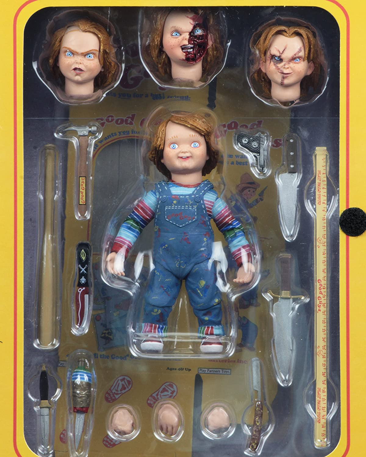 NECA CHILD/'S PLAY CHUCKY/'S GOOD GUYS YARD STICK ACTION FIGURE ACCESSORY
