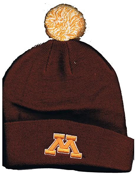 official photos 4a0a8 f3876 Image Unavailable. Image not available for. Color  Maroon Men s Pom Pom  Minnesota Gophers ...