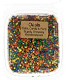 Edible Confetti Sprinkles Cake Cookie Cupcake Quins Primary Sequins 8 Ounces