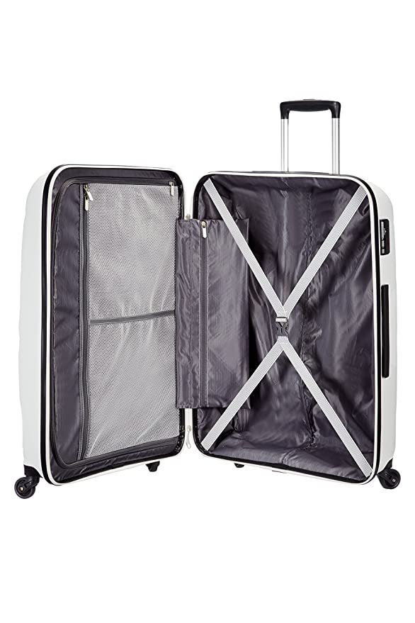 Amazon.com | American Tourister - Bon Air - Spinner 75 cm, 91 L, White | Suitcases