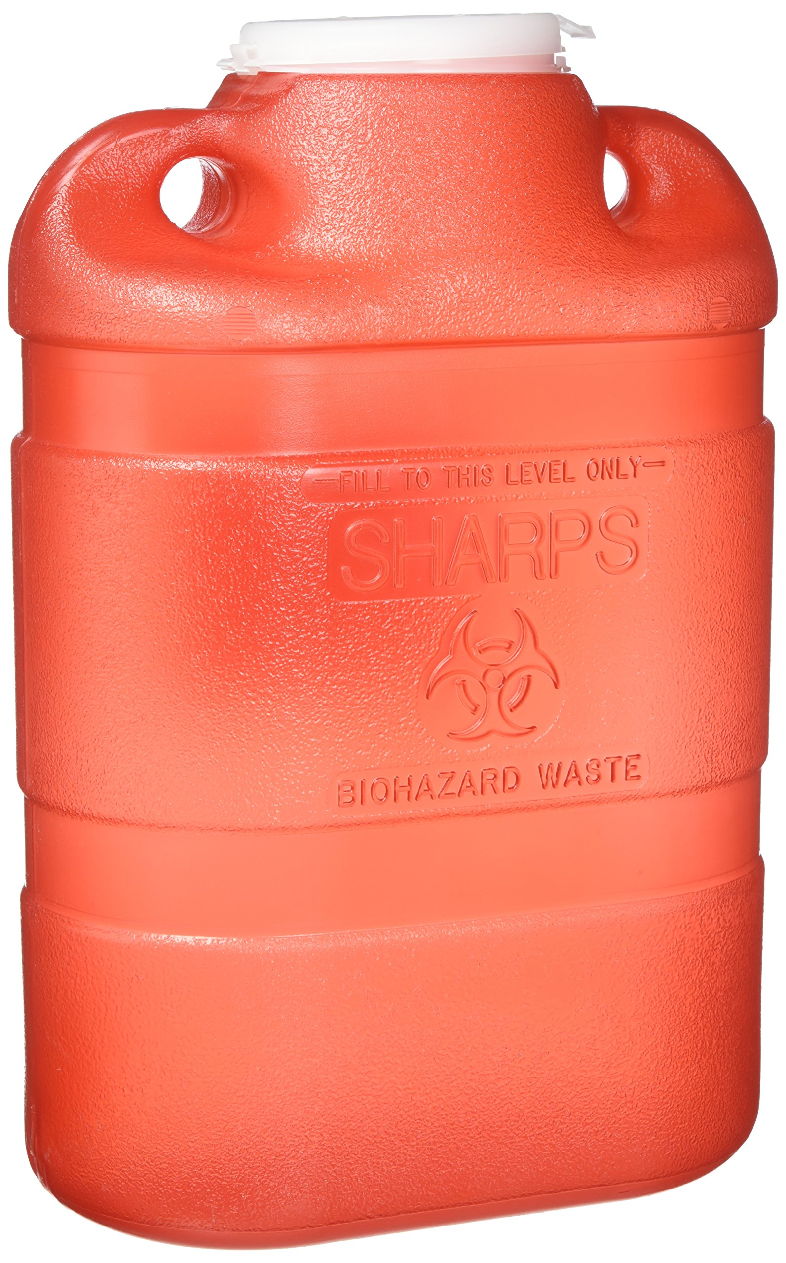 BD Sharps Collector 8.2 qt Large, Red by The Becton-Dickinson Incorporated
