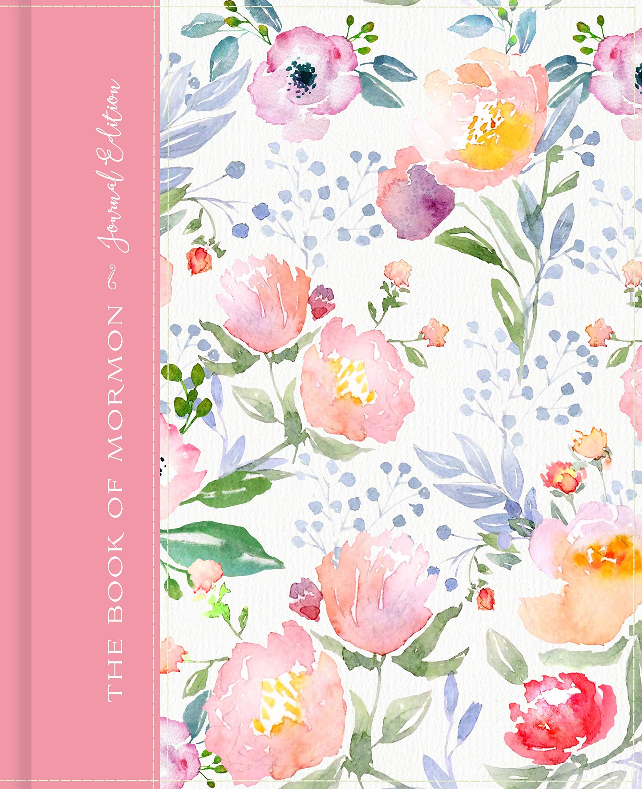 The Book of Mormon Journal Pink Floral
