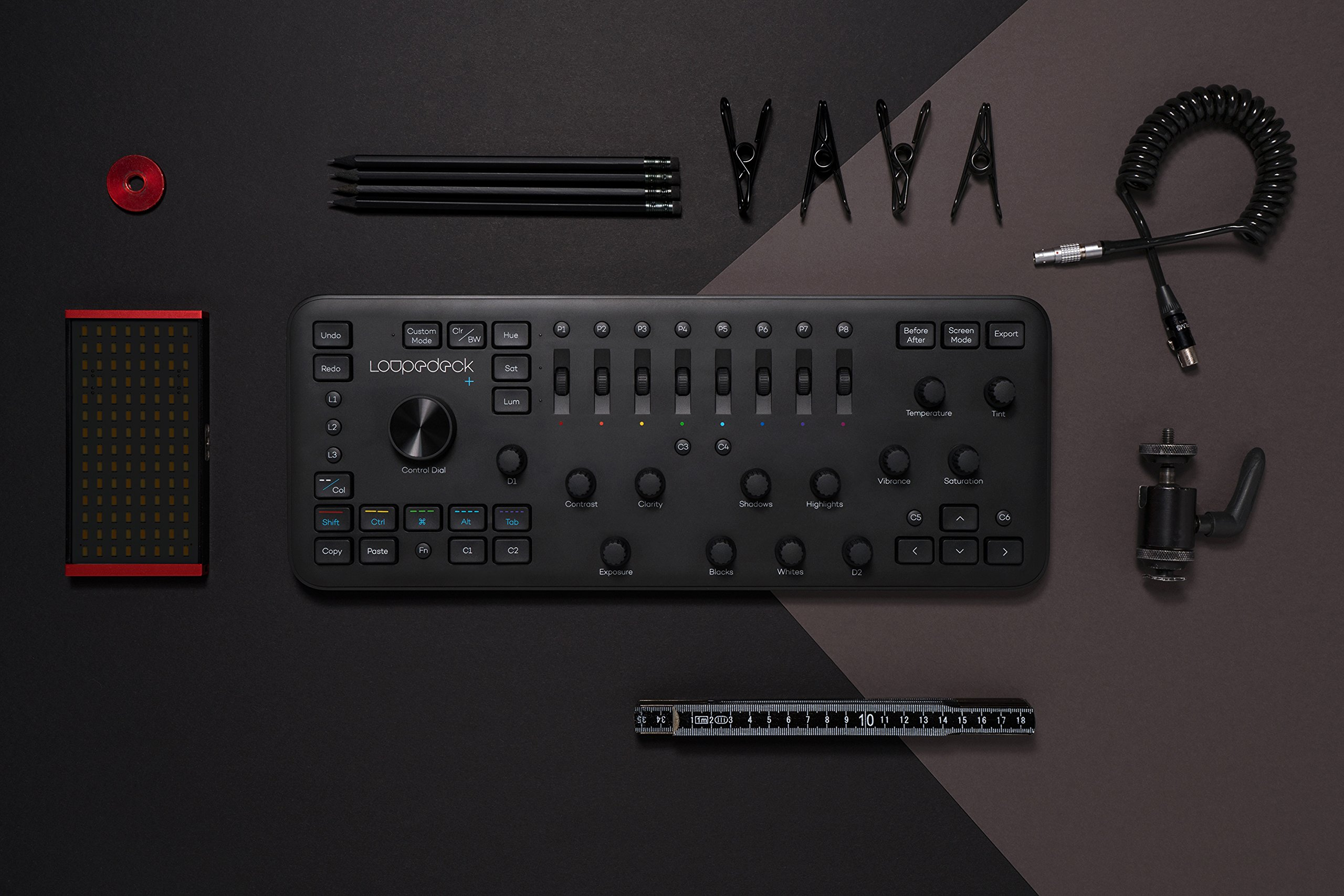 Loupedeck+ The Photo and Video Editing Console for Lightroom Classic, Premiere Pro, Final Cut Pro, Photoshop with Camera Raw, After Effects, Audition and Aurora HDR by Loupedeck (Image #4)