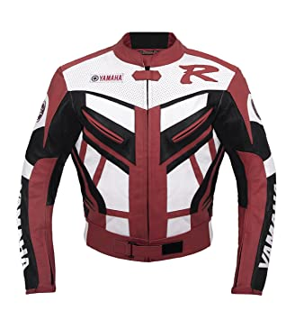 online store 41c20 38996 Yamaha Racing Giacca in Pelle Rossa M (EU50): Amazon.it ...