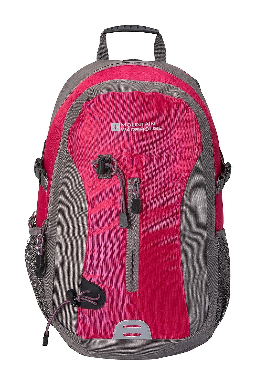 Mountain Warehouse Explorer 23L Backpack - Pockets Rucksack, Mesh Back Daysack, Shoulder Straps, MP3 Compatible Mini Rucksack -Ideal For Work, Camping & Summer Travelling 026146040001