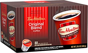 Tim Horton's Medium Roast Single Serve Coffee Cups (80 Count)