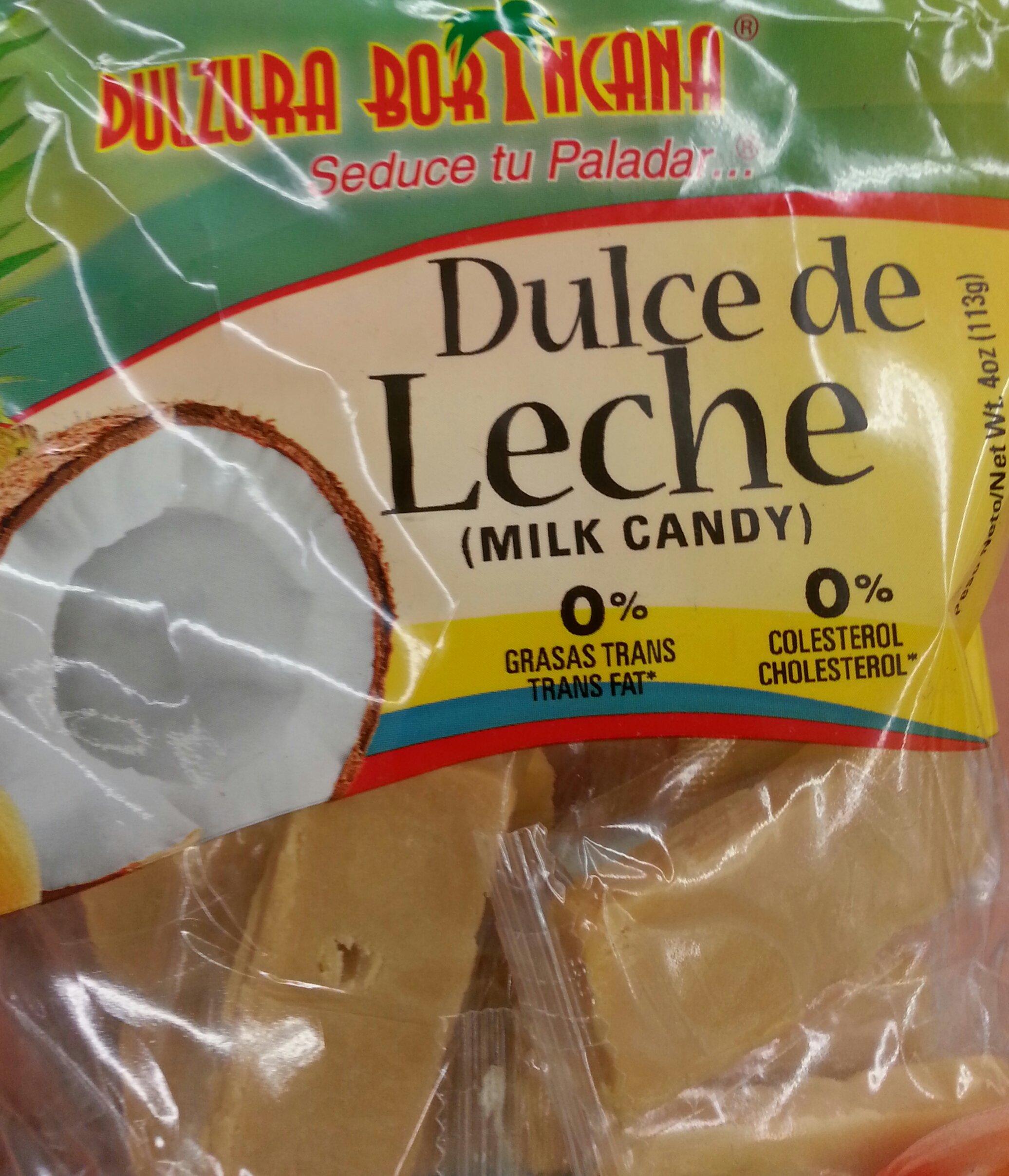 Dulzura Borincana Dulce de Leche (Milk Candy)