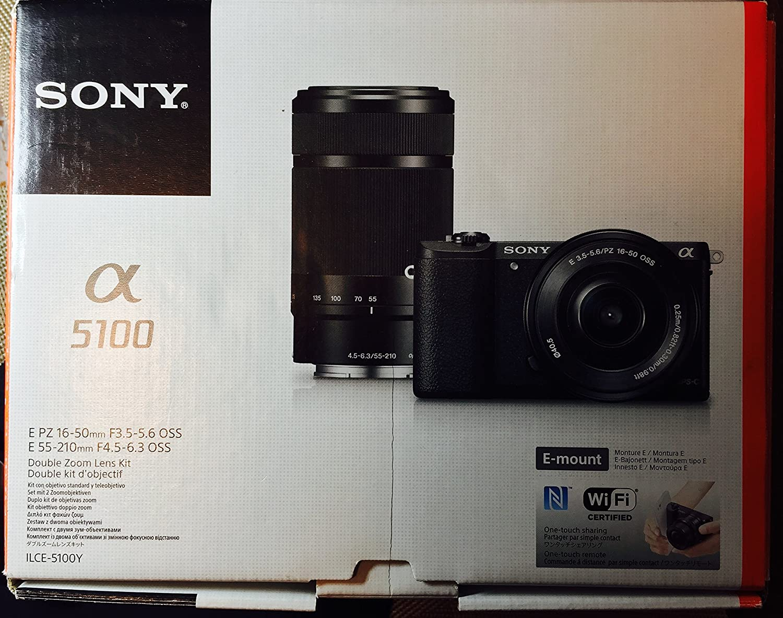 Best Sony Alpha A5100 Wi Fi Digital Camera 16 50mm Lens Black Kit