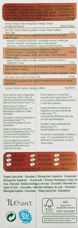 Provamel Batid Leche Chocolate Cacao Soja Brk 1000: Amazon.es: Alimentación y bebidas