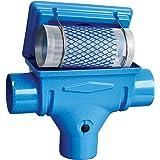 Regenwasserfilter Zisternenfilter 3P Kompaktfilter K mit Edelstahlsieb für den Einbau in die Zisterne, Anschluss DN 100, Höhenversatz 0 cm. Für die Regenwassernutzung im Haus und zur Gartenbewässerung