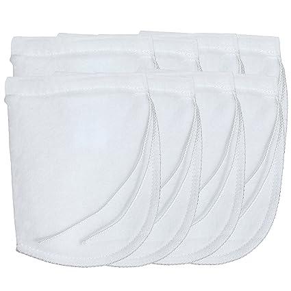 d4bf88514226 Aquarium Filter Bags 200 Micron with DRAWSTRING SHORT Felt Filter Bags -  8-Pack -