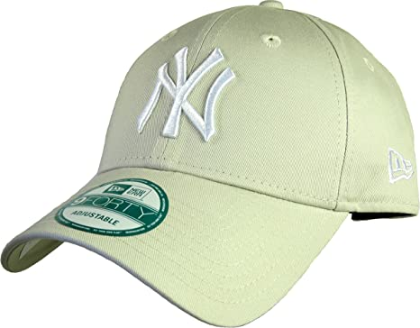 A NEW ERA Gorras NY Yankees League Essential Stone/White 940 ...