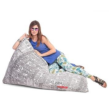 Stupendous Buy Style Homez Lounge Pyramid Cotton Canvas Newspaper Machost Co Dining Chair Design Ideas Machostcouk