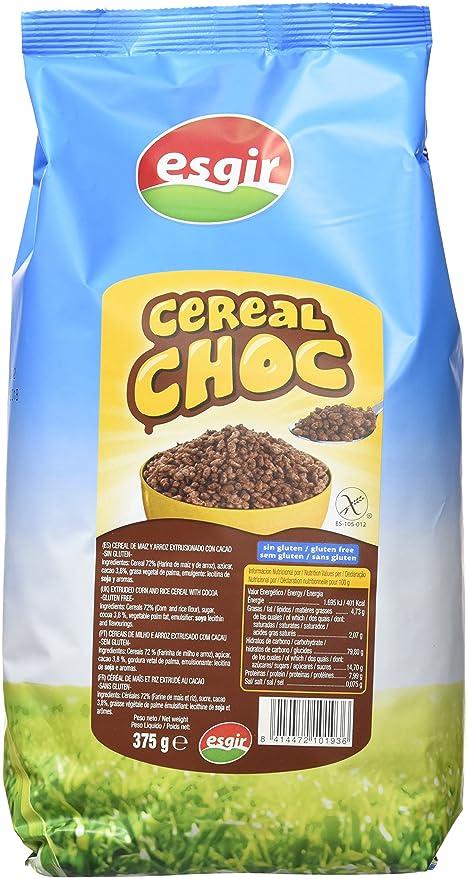 Esgir Cereales Desayuno sin Gluten - 375 gr: Amazon.es ...