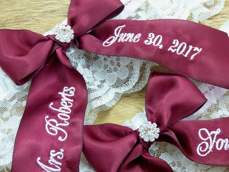 Handmade Purple and Black Satin Wedding or Prom GARTER Belt Rhinestone Pendant
