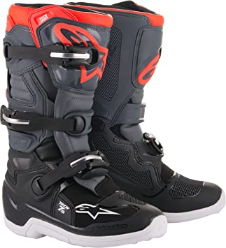 Size 8 Alpinestars Tech 7S Prodigy Youth Motocross Off-Road Motorcycle Boots