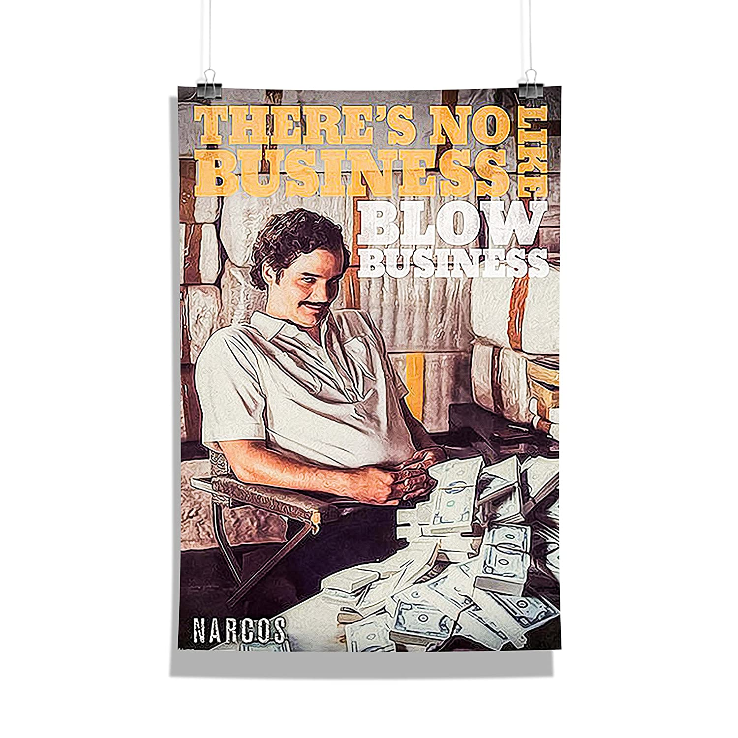 Mc Sid Razz - Narcos - Wall Decor - Home & Office Poster Print Art [ Frame Not Included ]